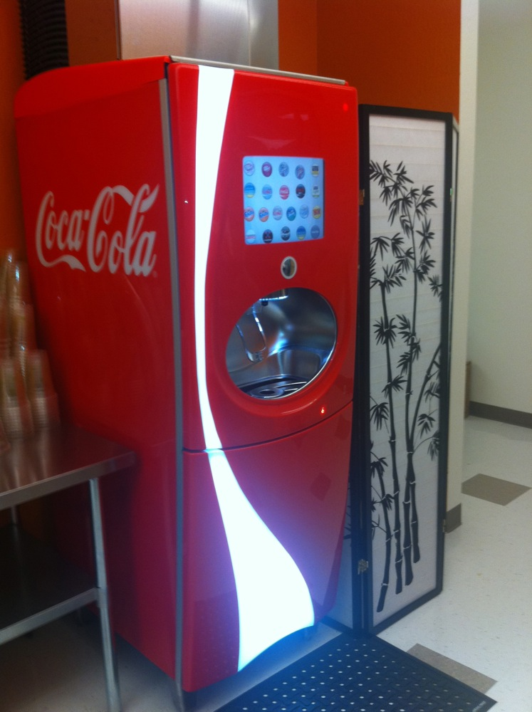 personal selling of coca cola